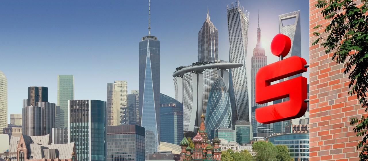 herausragende Gebäude der Welt